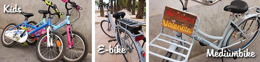 Kids bikes Valencia